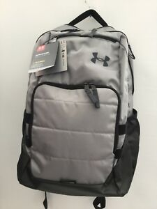 cafeb674e19c Image is loading Under-Armour-Storm-UA-Relentless-Grey-Black-Backpack
