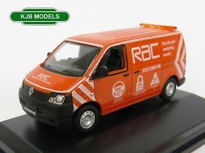 BNIB-OO-GAUGE-OXFORD-DIECAST-1-76-76T5V001-VW-T5-Van-RAC