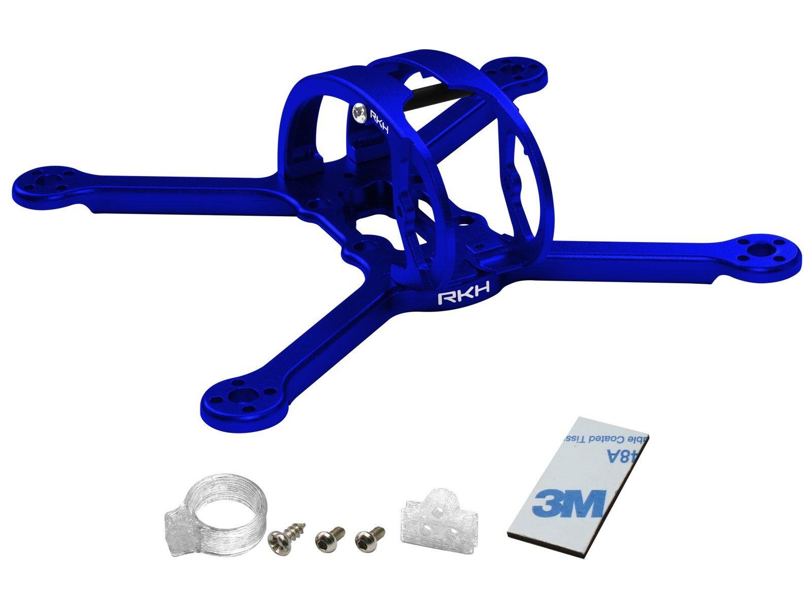 Rakonheli CNC Aluminum 3inch Kit (bluee) - EMAX Babyhawk R