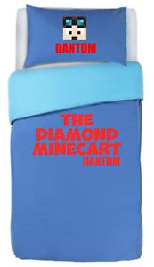 DAN-TDM-single-bed-duvet-cover-bedding-the-diamond-minecart-DANTDM