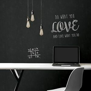 Image Is Loading Vintage Peel And Stick Black Farmhouse Chalkboard Decal