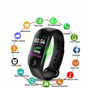 Montre-bracelet-Capteurs-d-039-activite-pour-homme-femme-Android-Ios