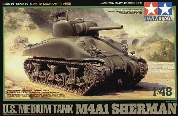 Tamiya 1  48 US M4A1 Sherman Tank