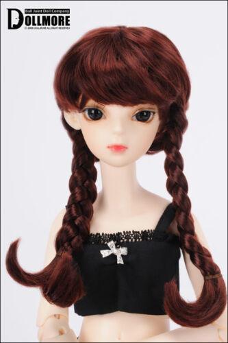 Wine DM 1//4 BJD MSD Wig 18-20 cm 7-8 inch Ann Hair Style