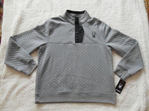 Tags Steel Polaire Coton L Spyder Authentic 100 Nice Point Nouveau Boutons Coton M s de Hommes TOASqw