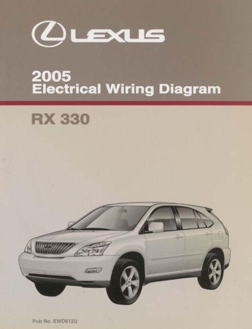 2005 Lexus Rx 330 Wiring Diagrams Schematics Layout