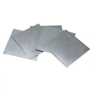 1pc High Purity 99.9/% Pure Zinc Zn Sheet Plate 100 x 100 x 0.2mm For Science