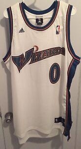 Image is loading Gilbert-Arenas-Washington-Wizards-NBA-Jersey-Adidas-Agent- 371d7c8e3