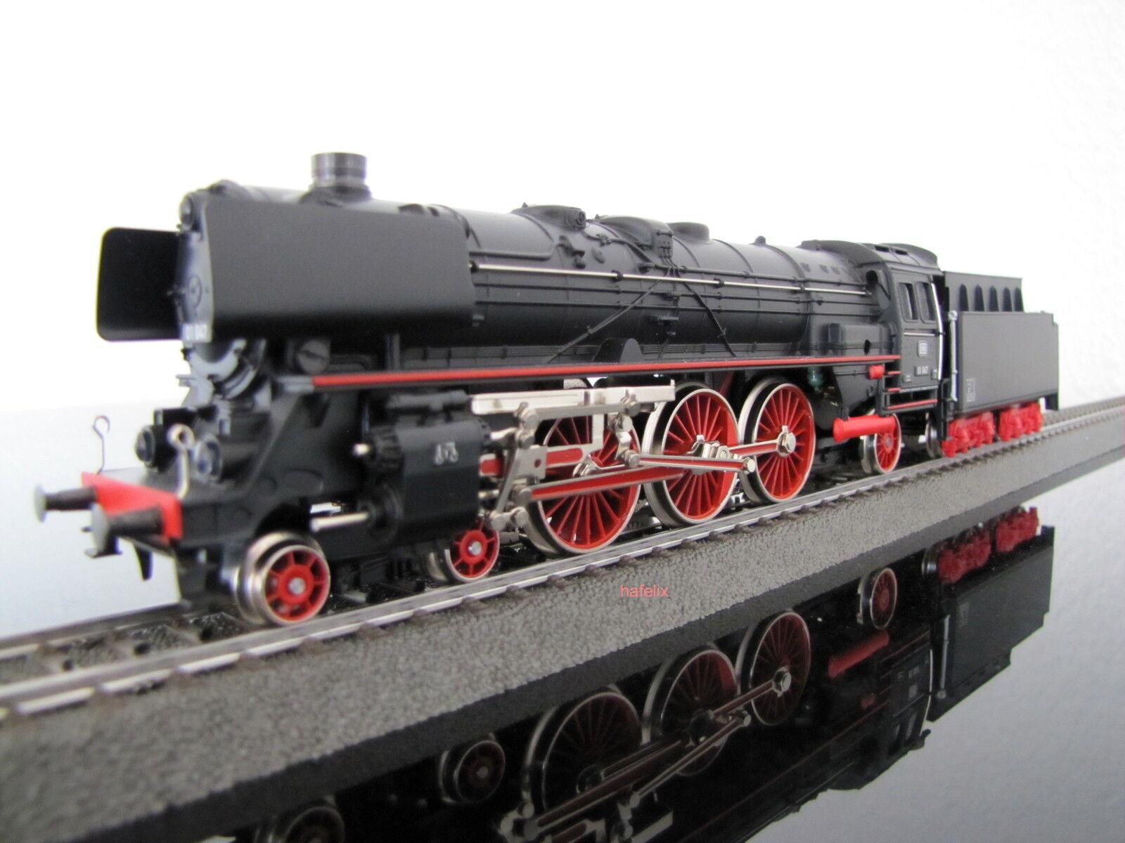 Märklin 30080 tren bala-máquina de vapor br01 de la DB, digital mfx, nuevo, casa libre (d)