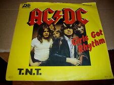 Single Vinyl : AC/DC    ---Girls got Rhythm+T.N.T.