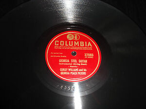 Very-Rare-Curley-Williams-Collectible-Old-Vintage-78-RPM-Record-Columbia-Label
