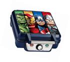 Marvel Mva-281 Avengers Waffle Maker Blue