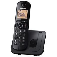 Panasonic kx-tgc210 principal digitales sin hilos DECT teléfono Negro