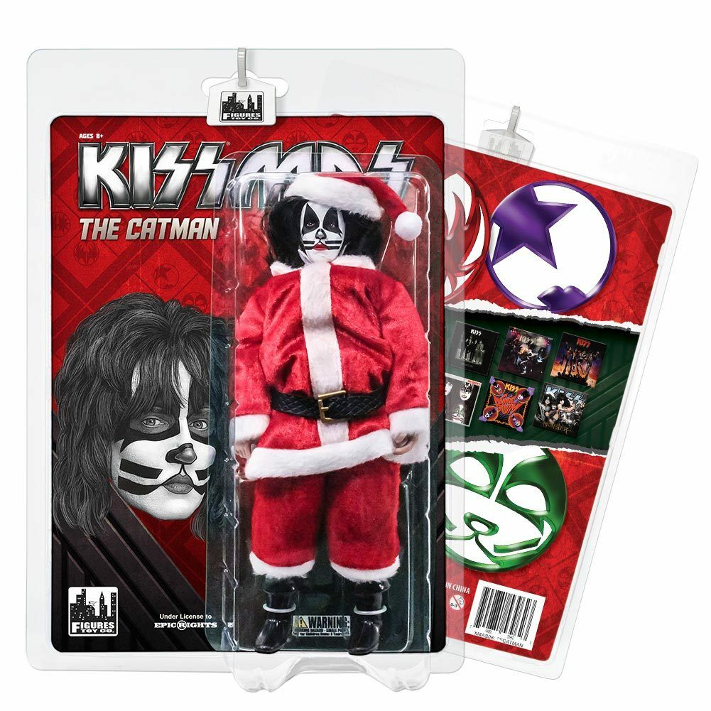 KISS 8 Inch Limited Edition Action Figure Christmas Series Series Series  The Catman 0fa926