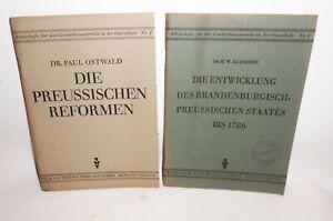 2-Hefte-Ostwald-Preussische-Reform-amp-Reinherz-Staatsentwicklung-Preussen-1946-H8