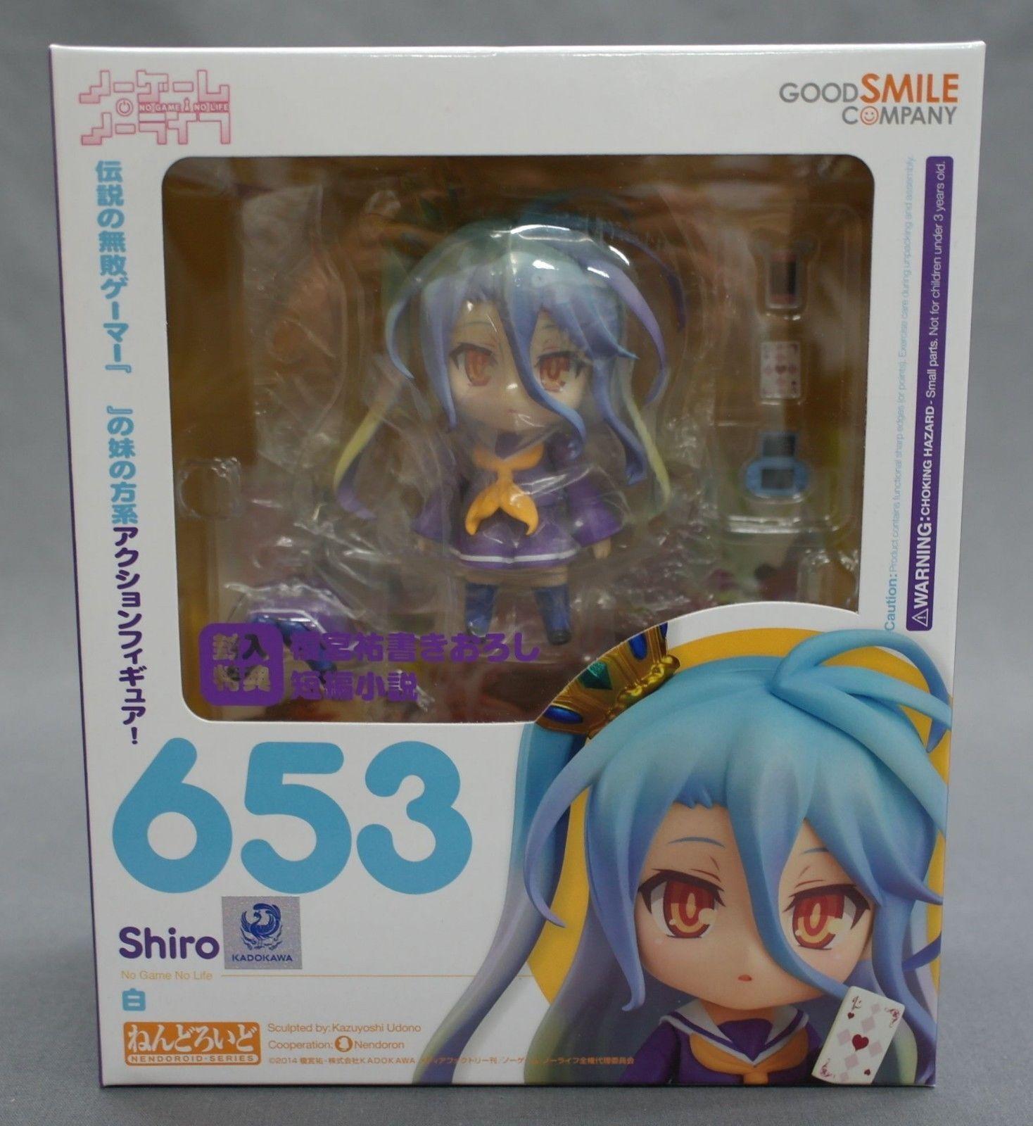 Nendoroid No Game No Life Shiro Good Smile Company Japan NEW
