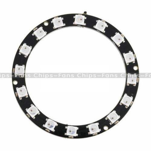 New 5050 16-Bit RGB LED Ring WS2812 Round Decoration Bulb Perfect For Arduino