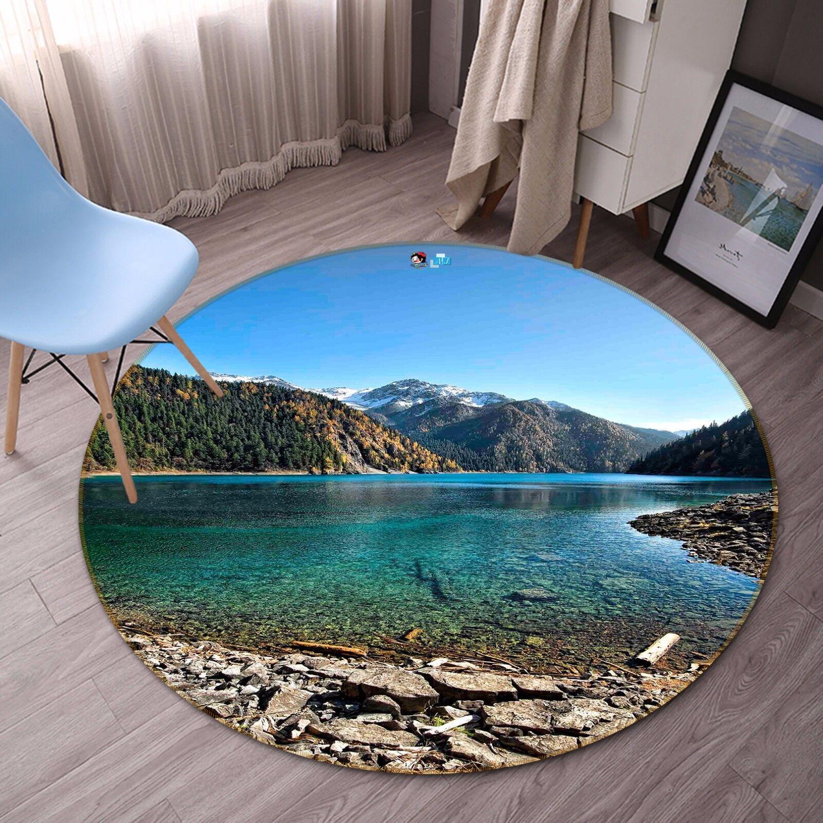 3D Landscape 535 Non Slip Rug Mat Room Mat Round Quality Elegant Photo Carpet CA