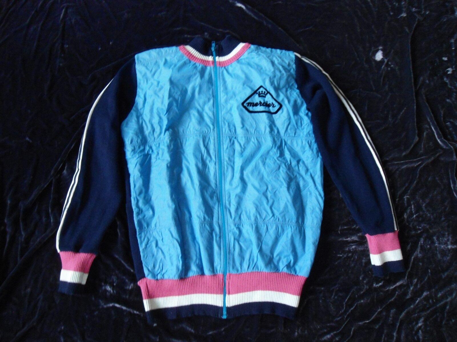 Mercer, bici retro, chaqueta de invierno, muy buena calidad.