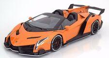 Kyosho 2014 Lamborghini Veneno Roadster Orange 1:18 New Item!