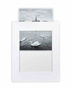 Pack-of-10-White-11x14-Slip-in-Pre-adhesive-Photo-Mat-for-8x10-picture