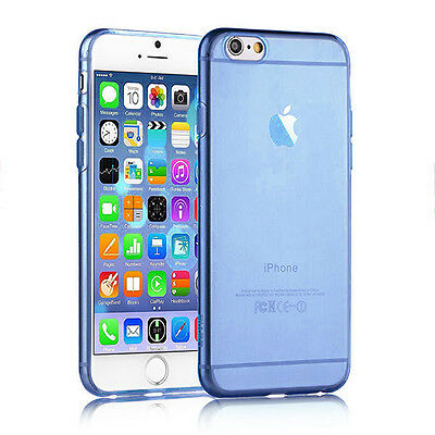 "COQUE ETUI HOUSSE IPHONE 6/6S - 4.7"" EN GEL SILICONE TRANSPARENT ULTRA FINE"
