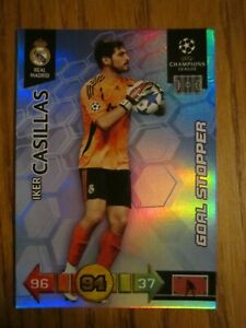 Adrenalyn XL Champions League 10//11 iker casillas G