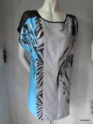 16 ** NOUVEAU BIBA tunique Série Gray CS 042 Taille 42,40 = uk14