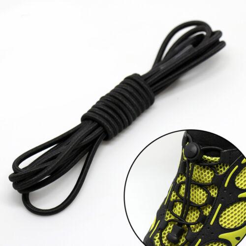 1Pair Women Men Shoe Acces Elastic Shoelaces Boot Sport Shoes Laces Replacement