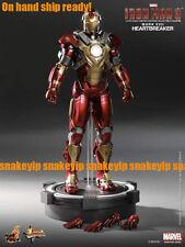 """Ship ready!Hot Toys Iron Man 3 Heartbreaker Mark 17 (Mark XVII) 12""""Figure MIB"""