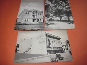 3-Vintage-Unused-Postcards-California-Themed-2