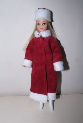 OOAK collezione Vacanze REPRO Vestito per Palitoy Pippa//Dawn Doll NO Stivali