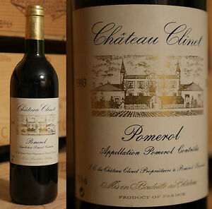 1993er Chateau Clinet-pomerol-top!-afficher Le Titre D'origine Achat SpéCial