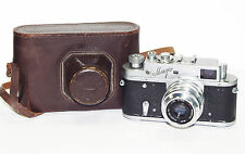 MIR Russian 35mm Camera USSR 1959 LEICA Zorki copy w/ Industar 50 M39 KMZ Good