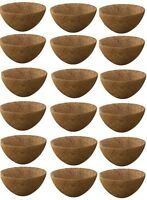 (18) Ea Panacea Products 87823 20 Round Coco Coconut Planter Liner