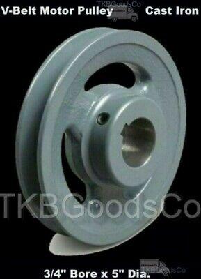 "TB WOODS 5RJD4 3//4/"" Fixed Bore Standard V-Belt Pulley"