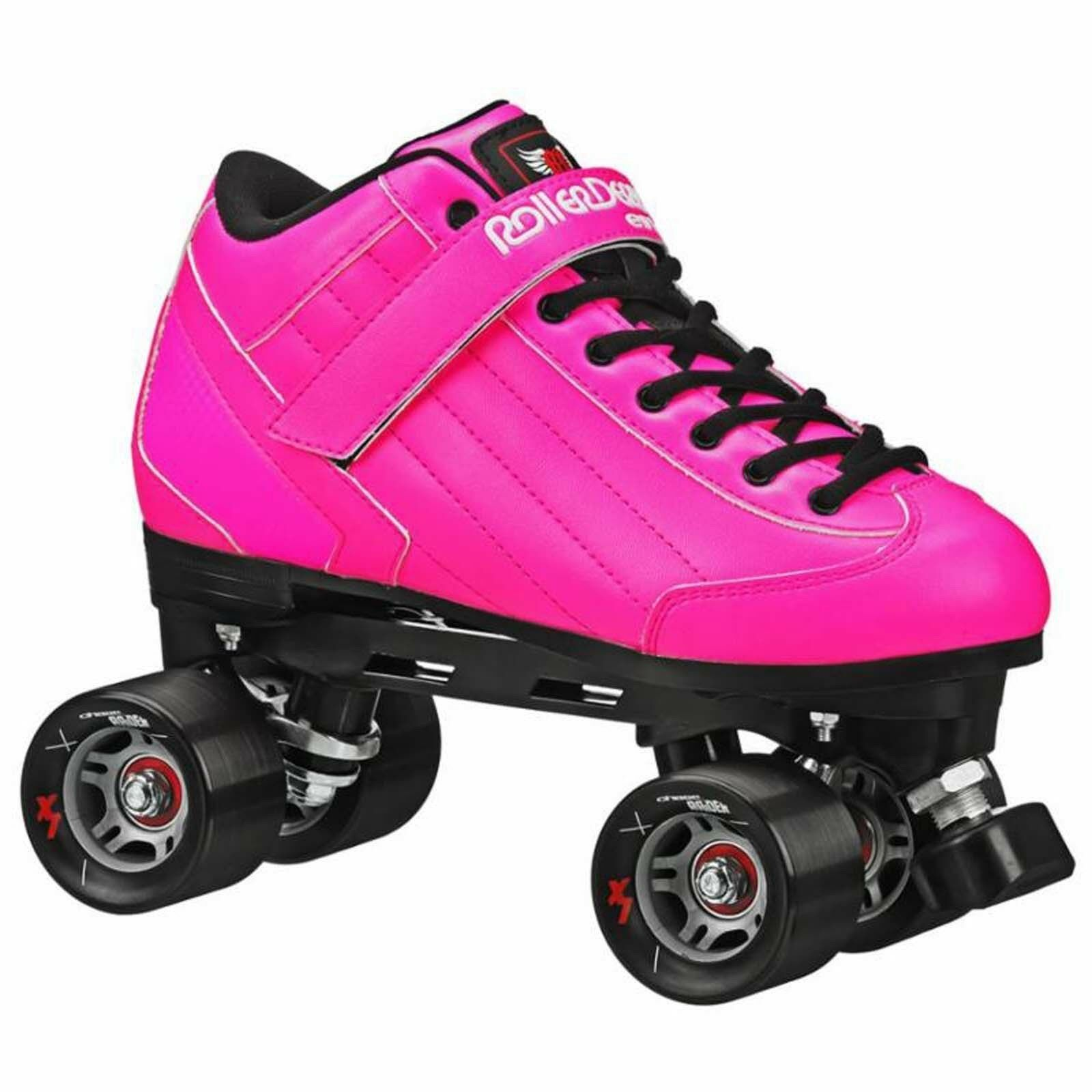 New Rosa Roller Skates - Roller Derby Stomp 5 Elite Men Größe 4-11