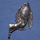 Grande Peltre Hawk Gauntlet Falconry Broche Calidad
