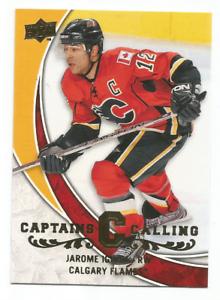 2008-09-Upper-Deck-Captains-Calling-CPT2-Jarome-Iginla-Calgary-Flames