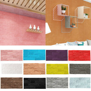 DIY-3D-Brick-PE-Foam-Wallpaper-Panels-Room-Stone-Decal-Embossed-Wall-Stick-HL