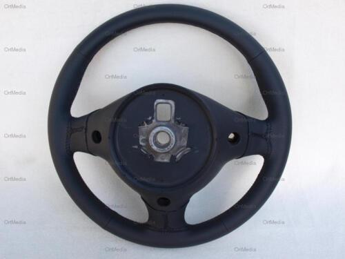 Lenkrad neu beziehen für Alfa Romeo 155 156 159 166 schwarz//gelocht Lederlenkrad