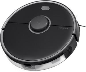 Roborock S5 MAX BLACK Robot Vacuum/Mop with E-Tank, Alexa + App Control