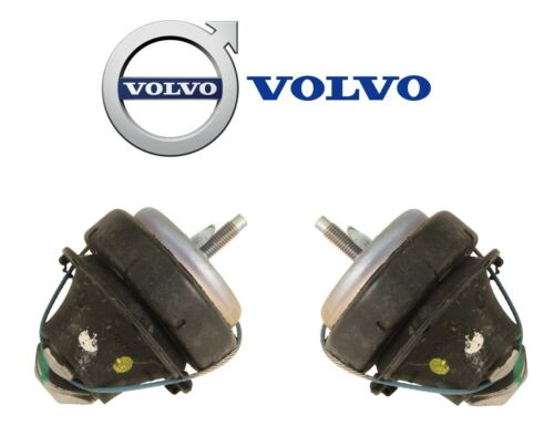 For Volvo S80 XC90 2006-14 Set Pair of 2 Lower Front Rear Engine Motor Mounts