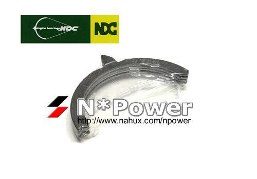 NDC THRUST WASHERS STD FOR TOYOTA 1FZ-FE 4.5L DOHC Landcruiser FZJ80R 11.92-2.98