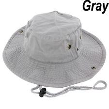 a1ddd051b72 Boonie Bucket Hat Cap 100% Cotton Fishing Hunting Safari Summer Military  Men Sun
