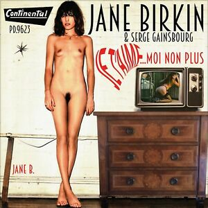 """7"""" JANE BIRKIN Je t'aime..moi non plus CONTINENTAL South Africa ONLY SLEEVE!"""