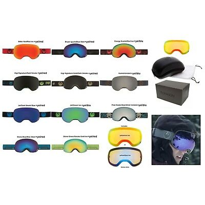 NEW Dragon X2 Mens Oversized Spherical Ski Snowboard Goggles + Lens Msrp$220