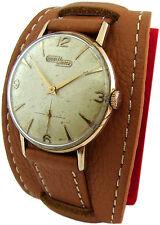 Nicolet Watch Handaufzug Uhr 17 Jewels swiss made mens manual wind watch clock