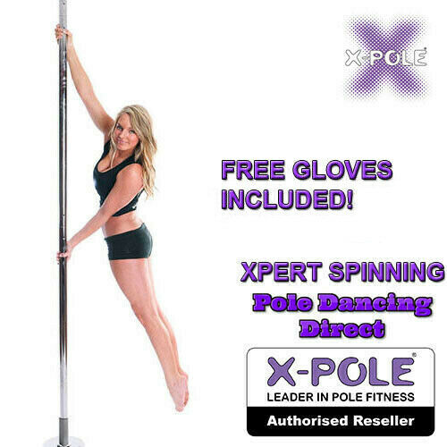 X-pole Spinning Xpert (NX) - Cromo Y Dorado 40mm 45mm Profesional Dance Pole