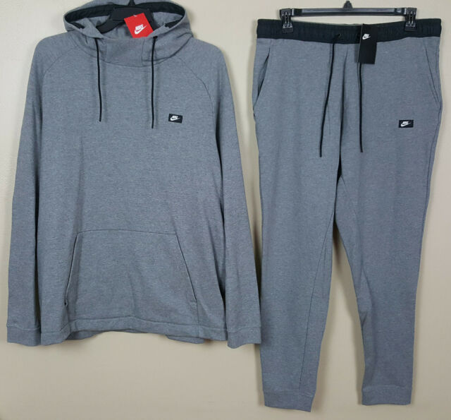 all grey nike sweatsuit